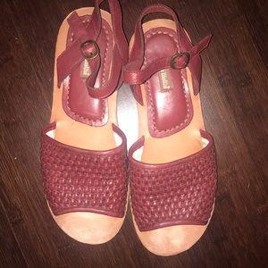 Anthropologie GeeWawa Brand sandals